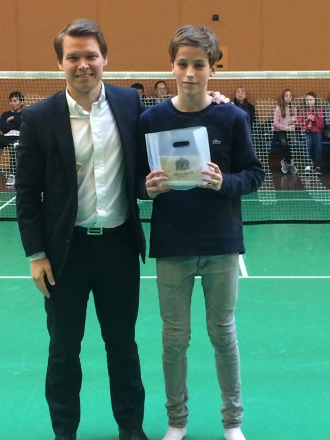 Victor Kauffmann badminton DM