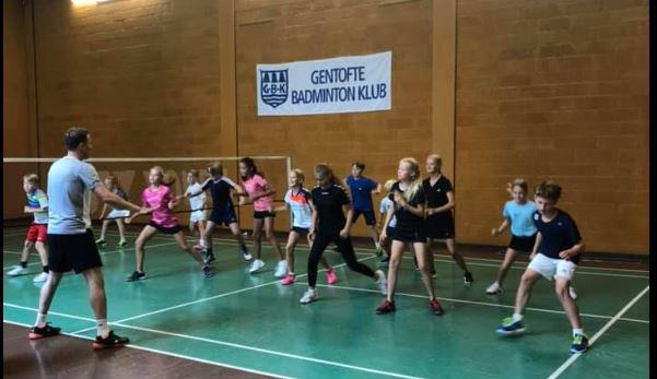 badminton træning