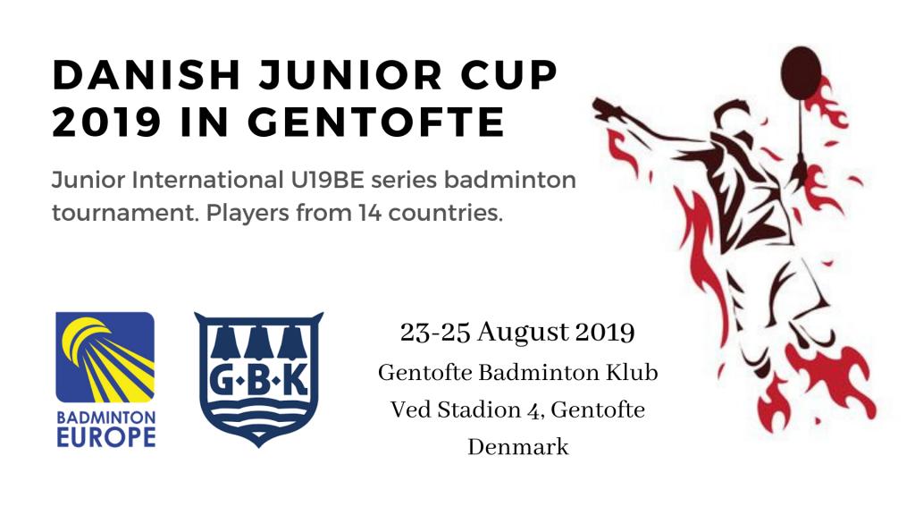 Danish Junior Cup Badminton in Gentofte Denmark