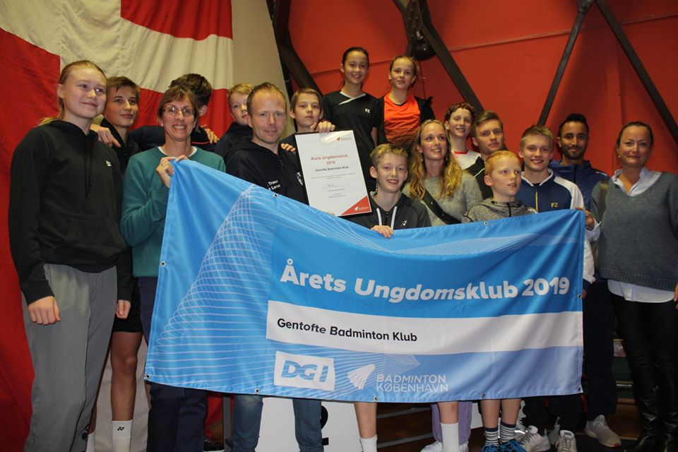 Årets ungdomsklub i badminton København