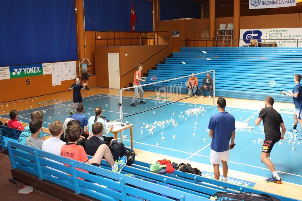 Trænerteamet i Gentofte Badminton Klub 2020/2021