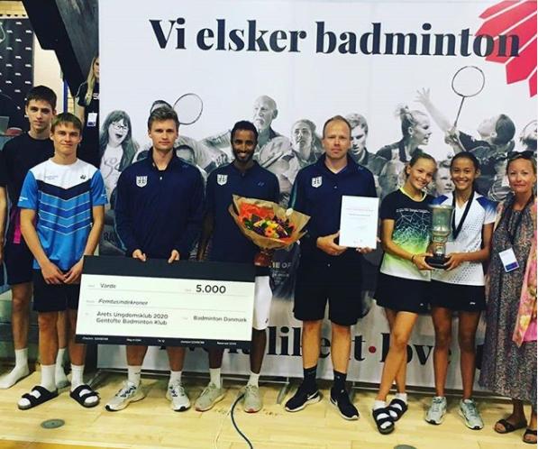 Gentofte kåret til årets ungdomsklub i Danmark